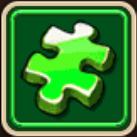 Green Artifact Fragment