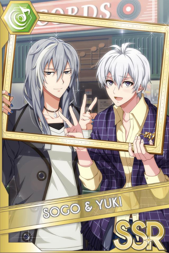 Sogo & Yuki (Shuffle Talk)