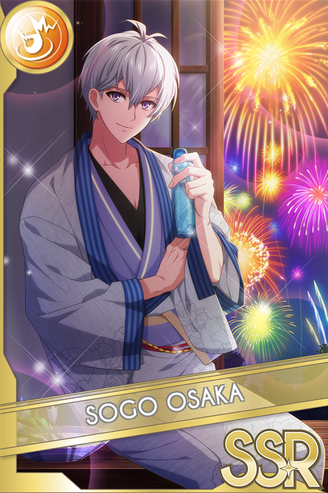 Sogo Osaka (Flowers Reflected in Your Image)