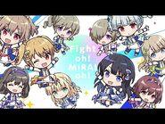 【MV】Fight oh! MIRAI oh! - 星見プロダクション 作詞・作曲・編曲:Q-MHz【IDOLY PRIDE】