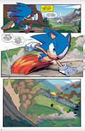 Preview sonic idw vol.1 page 5