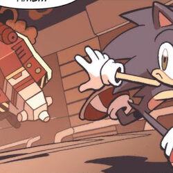 IDW Sonic Chronology