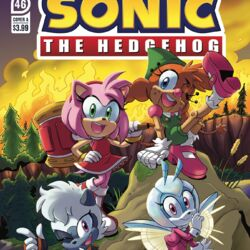 IDW Sonic the Hedgehog Issue 46