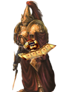 Custodes with Duel Disk