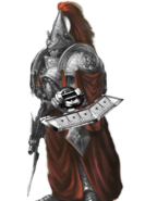 Custodes Silver with Duel Disk