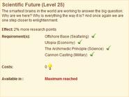 Scientific Future Level 25 big