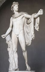 s25 / Apollo (Roman) / Apollon / Apollos / Apolo - Greek god of light and the sun, truth and prophecy, healing, plague, music, poetry, and more