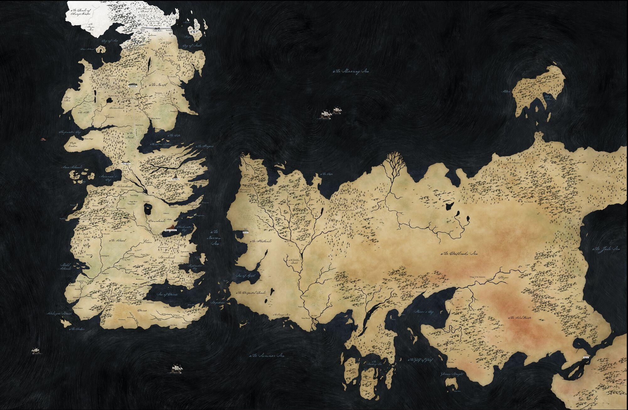 Cartina Mondo Wikipedia.Mondo Conosciuto Il Trono Di Spade Wiki Fandom