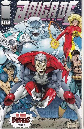 Cover for Brigade #1 (1993)
