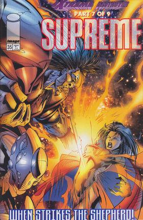 Cover for Supreme #35 (1996)