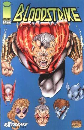 Cover for Bloodstrike #5 (1993)