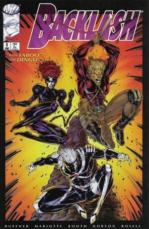 Cover for Backlash (1995)