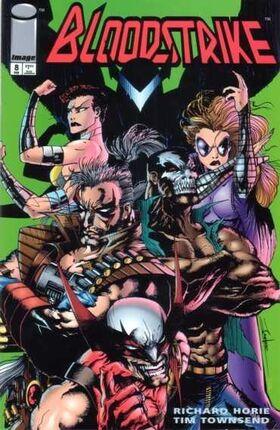 Cover for Bloodstrike #8 (1994)