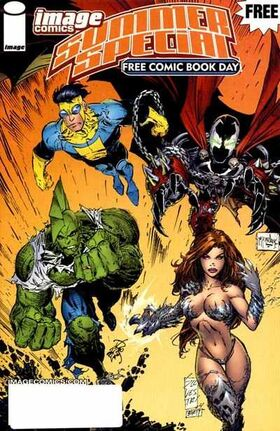 Cover for Image Comics Summer Special #1 (2004)