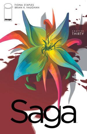 Cover for Saga #30 (2015)