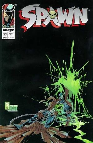 Cover for Spawn #27 (1995)