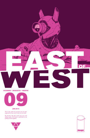 Cover for East of West #9 (2014)