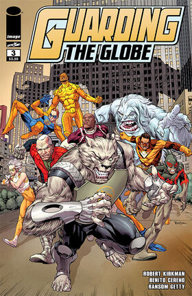 Cover for Guarding the Globe #3 (2011)