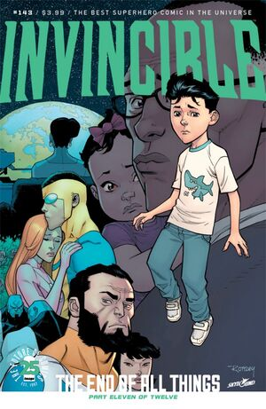 Cover for Invincible #143 (2017)