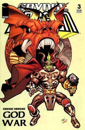 Cover for Savage Dragon: God War #3 (2005)