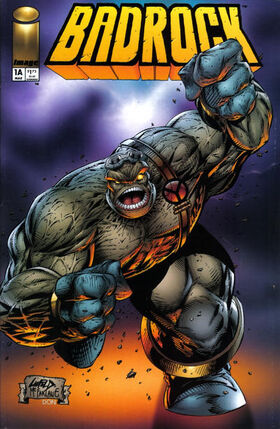 Cover for Badrock #1 (1995)