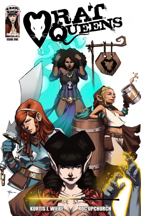 Rat Queens Vol 1 1