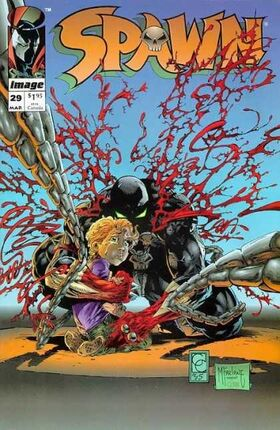 Cover for Spawn #29 (1995)