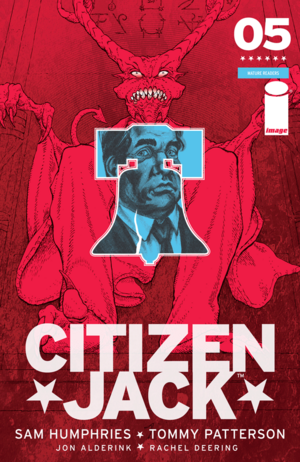 Cover for Citizen Jack #5 (2016)