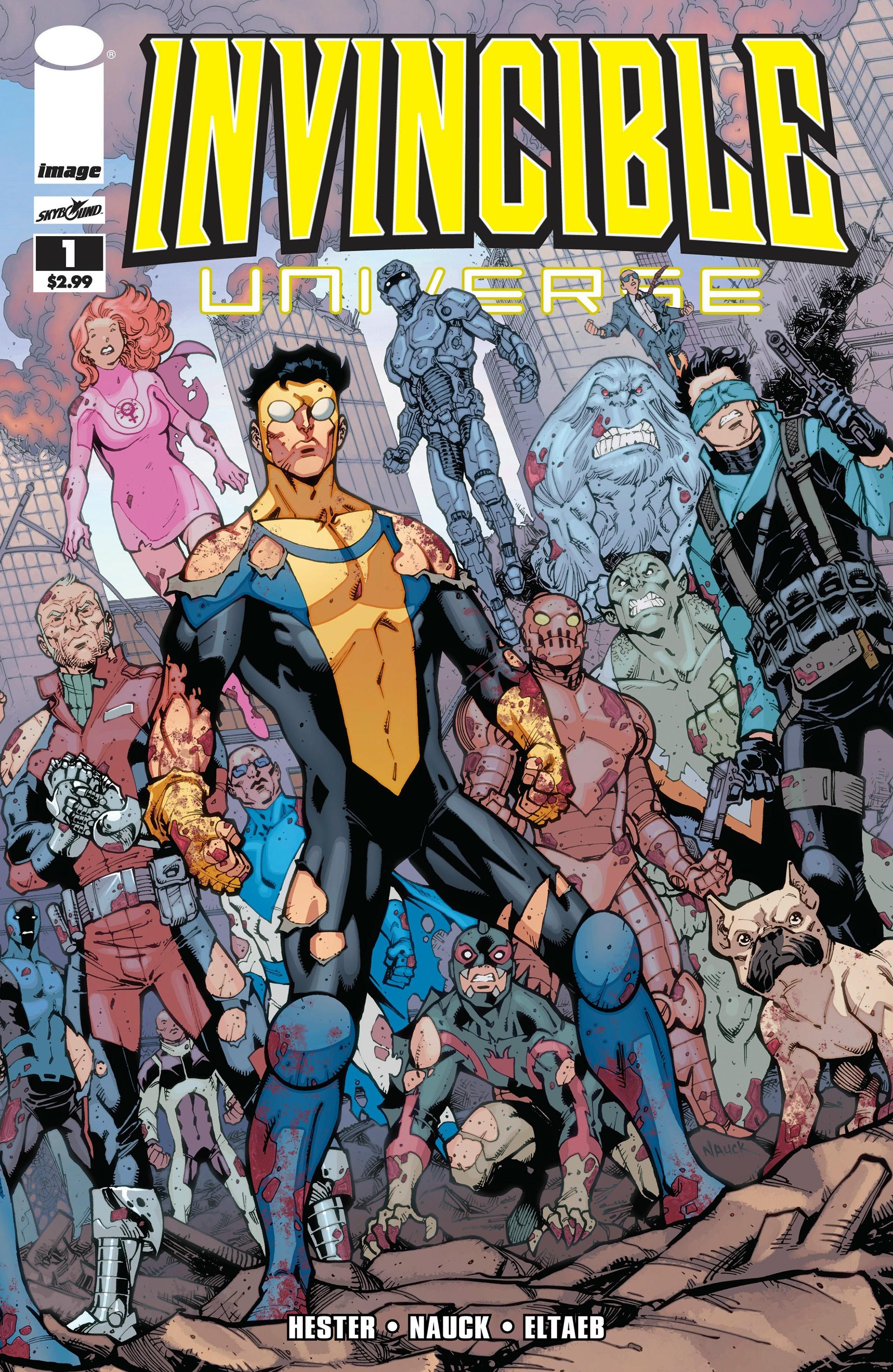 Invincible Universe Vol 1 1
