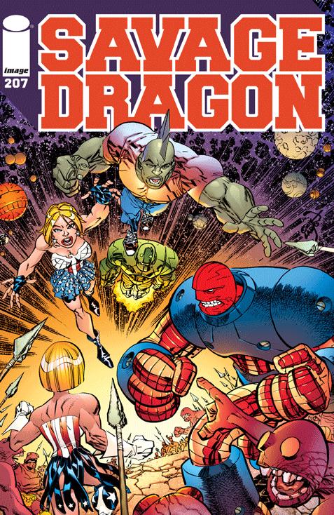 Savage Dragon Vol 1 207