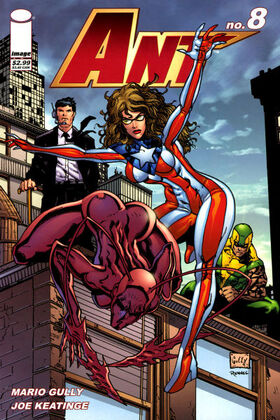 Cover for Ant #8 (2006)