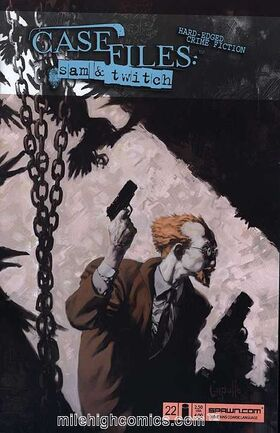Cover for Case Files: Sam and Twitch #22 (2006)