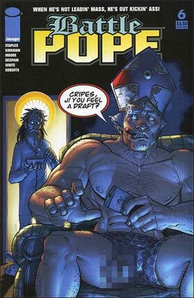 Cover for Battle Pope #6 (2006)