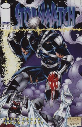 Cover for StormWatch #5 (1993)