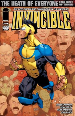 Cover for Invincible #100 (2013)