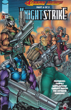 Cover for Knightstrike #1 (1996)