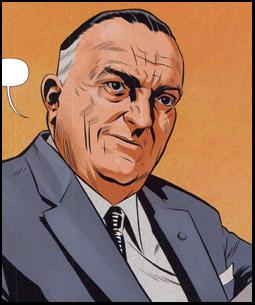 J. Edgar Hoover (Jupiter's Legacy)
