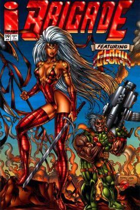 Cover for Brigade #19 (1995)