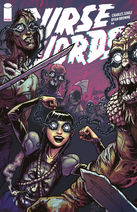 Cover for Curse Words #14 (2018)