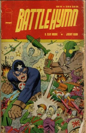 Cover for Battle Hymn #5 (2005)