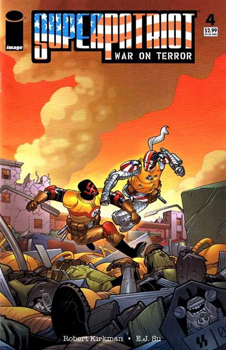 SuperPatriot: War on Terror Vol 1 4