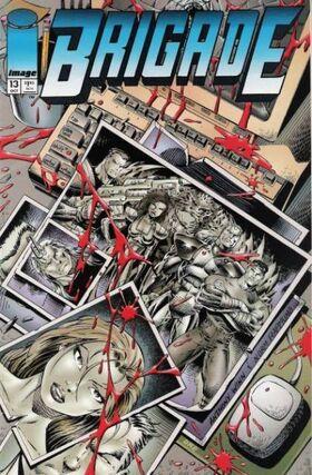 Cover for Brigade #13 (1994)
