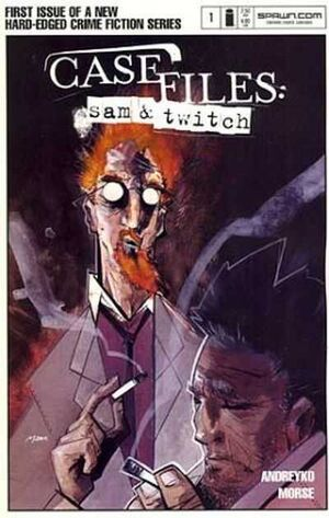 Cover for Case Files: Sam and Twitch #1 (2003)