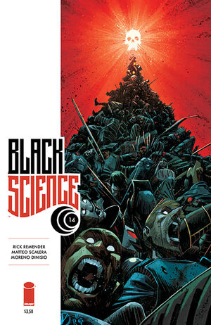 Cover for Black Science #14 (2015)