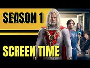 JUPITER'S LEGACY Screen Time Characters