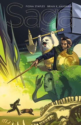 Cover for Saga #25 (2015)