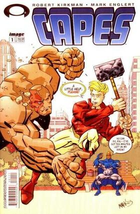 Cover for Capes #1 (2003)