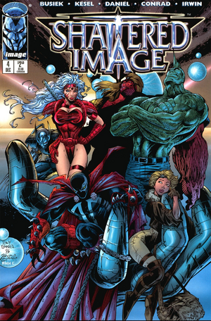 Cover for Shattered Image #4 (1996)
