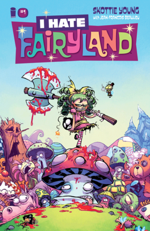Cover for I Hate Fairyland #1 (2015)