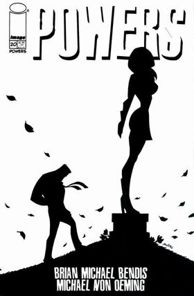 Cover for Powers #20 (2002)